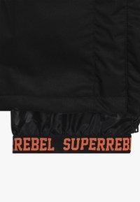 SuperRebel - SKI SNOWBOARD PANT PLAIN - Talvihousut - black - 2
