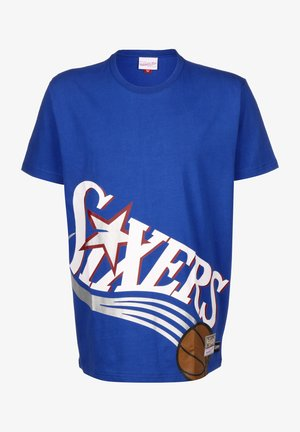 BIG FACE SIXERS - Print T-shirt - royal