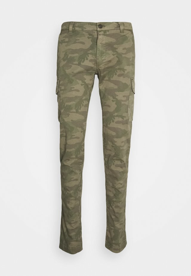 CHILE - Cargo trousers - olive