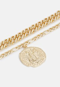 Uncommon Souls - LION MULTIROW UNISEX - Necklace - gold-coloured