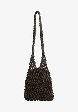 PUNOTTU BUCKET - Across body bag - chocolate