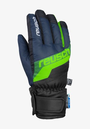 DARIO R-TEX® XT  - Gloves - dress blue/neon green