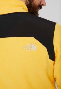 The North Face - GLACIER PRO FULL ZIP - Fleecejacke - yellow/black - 6