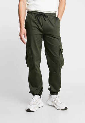 BASIS - Cargo trousers - khaki