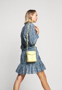 Rebecca Minkoff - DRESS - Shirt dress - blue/multi - 4