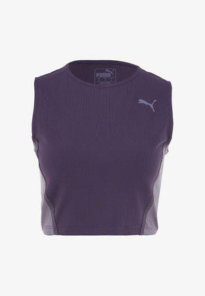MIDI TANK  - Sports shirt - indigo