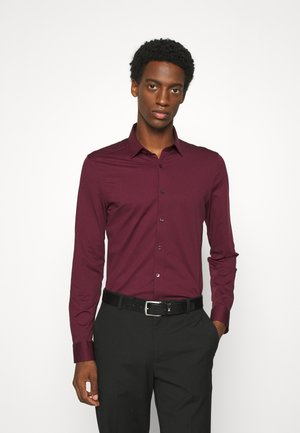 LUXOR MODERN FIT JERSEY - Camicia elegante - bordeaux