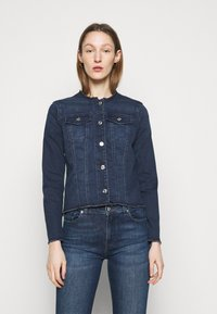 7 for all mankind - JACKET BAIR PARK AVENUE - Denim jacket - dark blue - 0