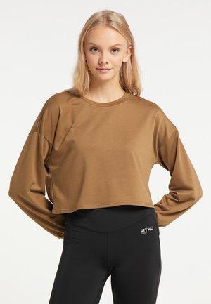 Sweatshirt - braun