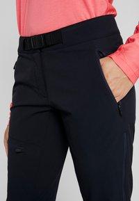 Vaude - BADILE PANTS II - Trousers - black uni - 3