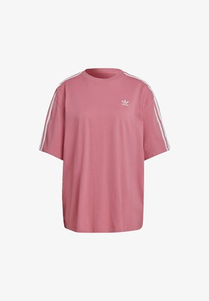 OVERSIZED ADICOLOR RELAXED - T-shirt z nadrukiem - rose tone