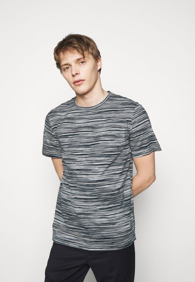 MANICA CORTA - T-shirt print - dark blue