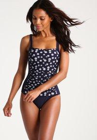 LASCANA - GLUE - Swimsuit - navy/white - 1
