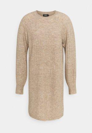 ONLCORINNE DRESS - Jumper dress - toasted coconut melange