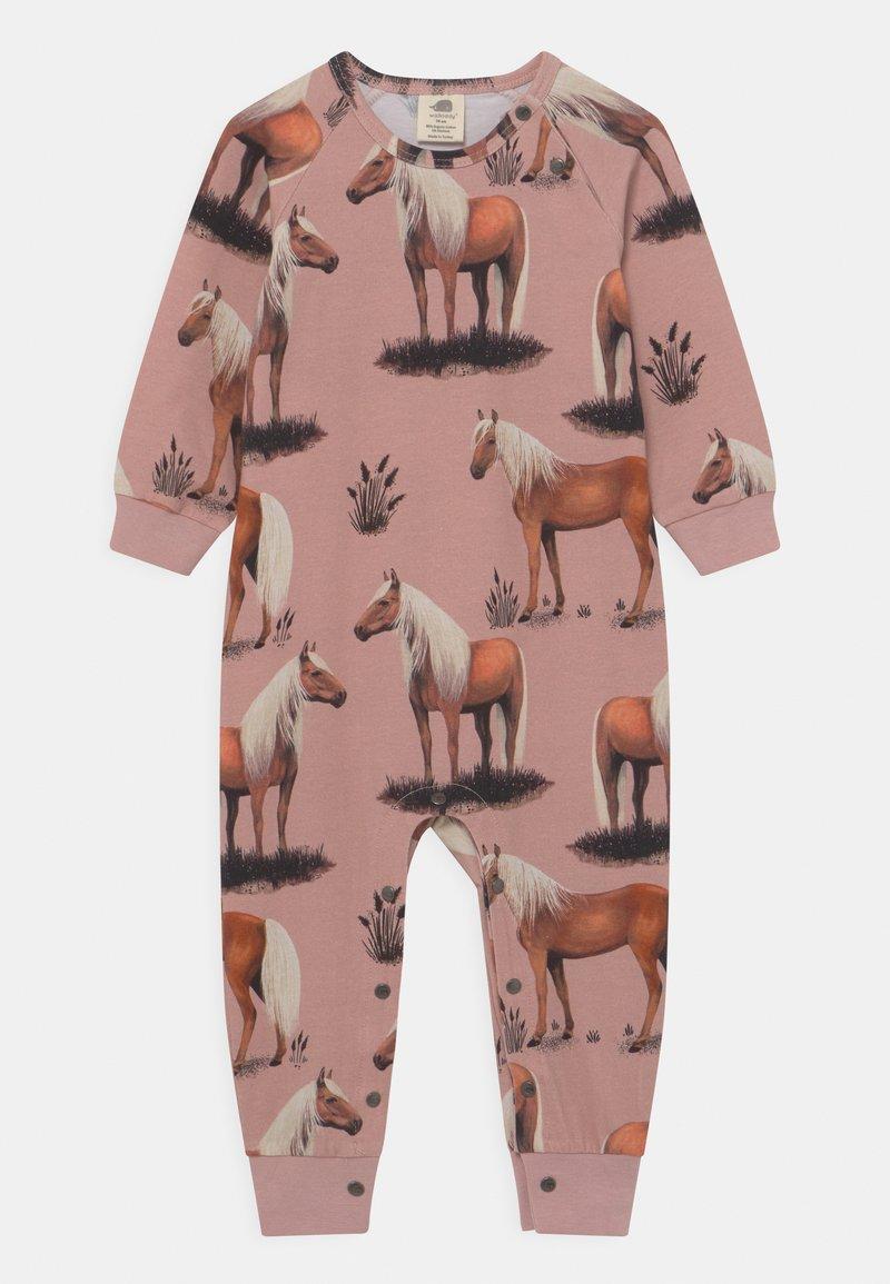 Walkiddy - BODYSUIT BEAUTY HORSES - Pyjamas - pink