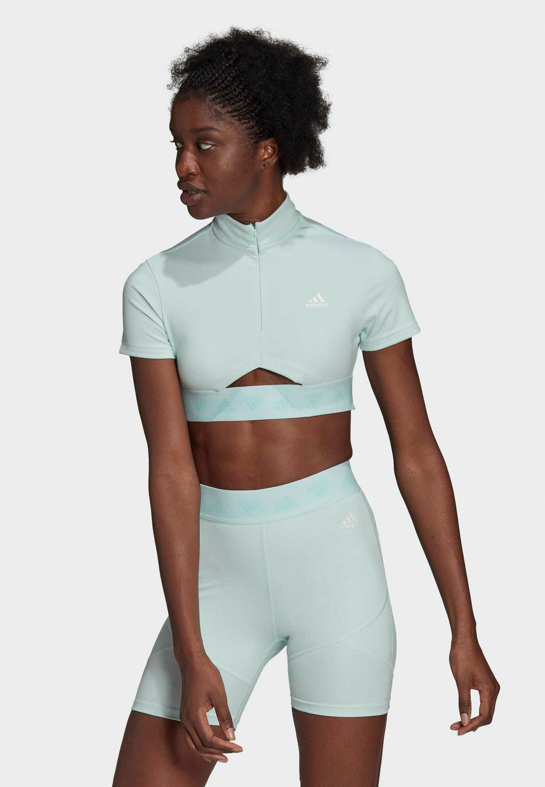 Women HYPERGLAM CROP ZIP - Sports bra