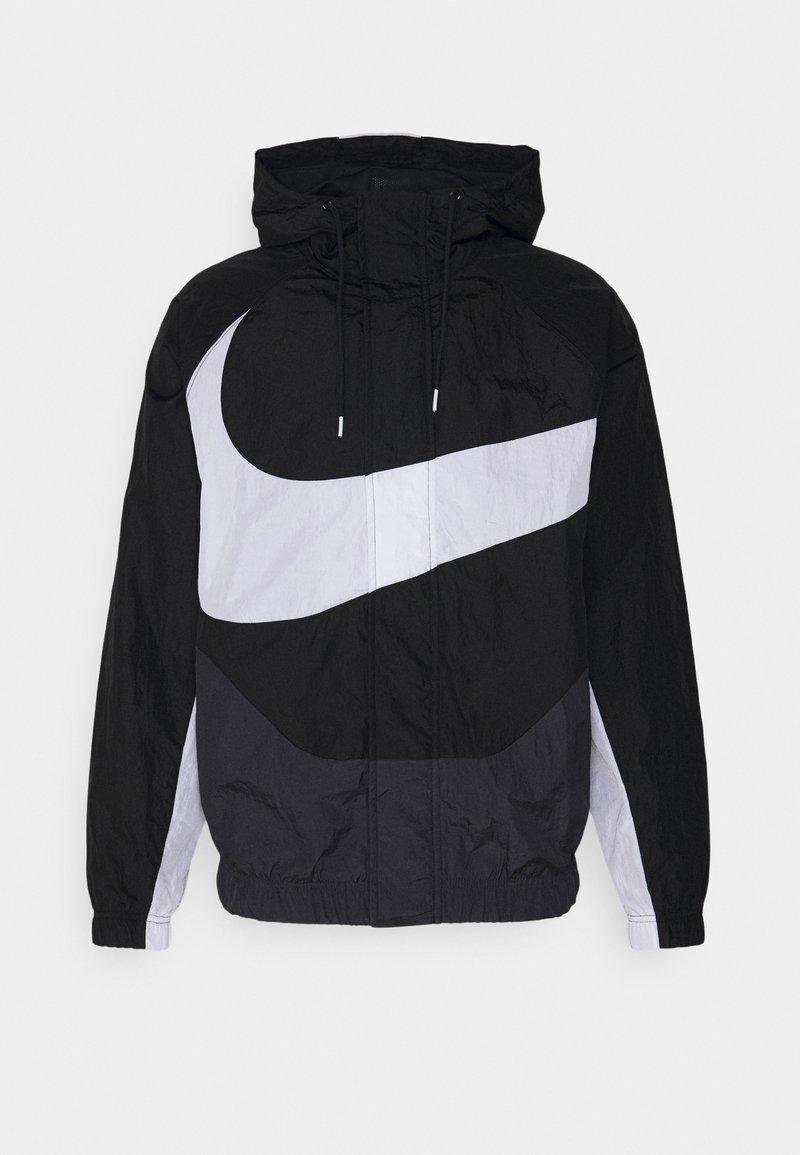 Nike Sportswear - Windbreaker - black/anthracite/white