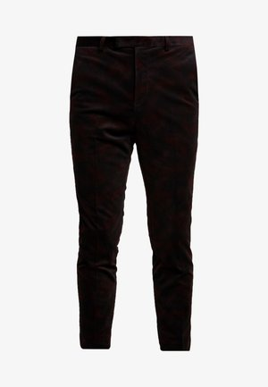 AUSTIN  - Suit trousers - black