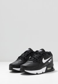 Nike Sportswear - AIR MAX 90 UNISEX - Sneakersy niskie - black/white - 3
