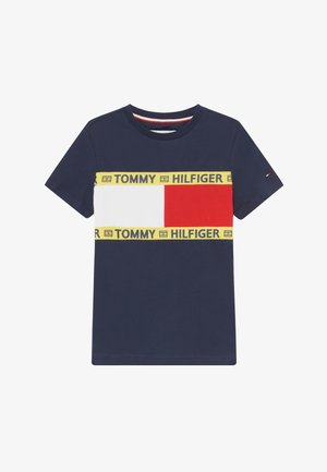 FLAG - T-shirt print - blue