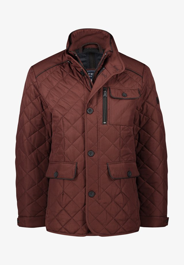 Winter jacket - brick/midnight