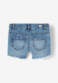 Name it - Denim shorts - medium blue denim - 1