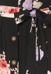 PIECES Tall - PCNISU DRESS  - Robe d'été - black - 2