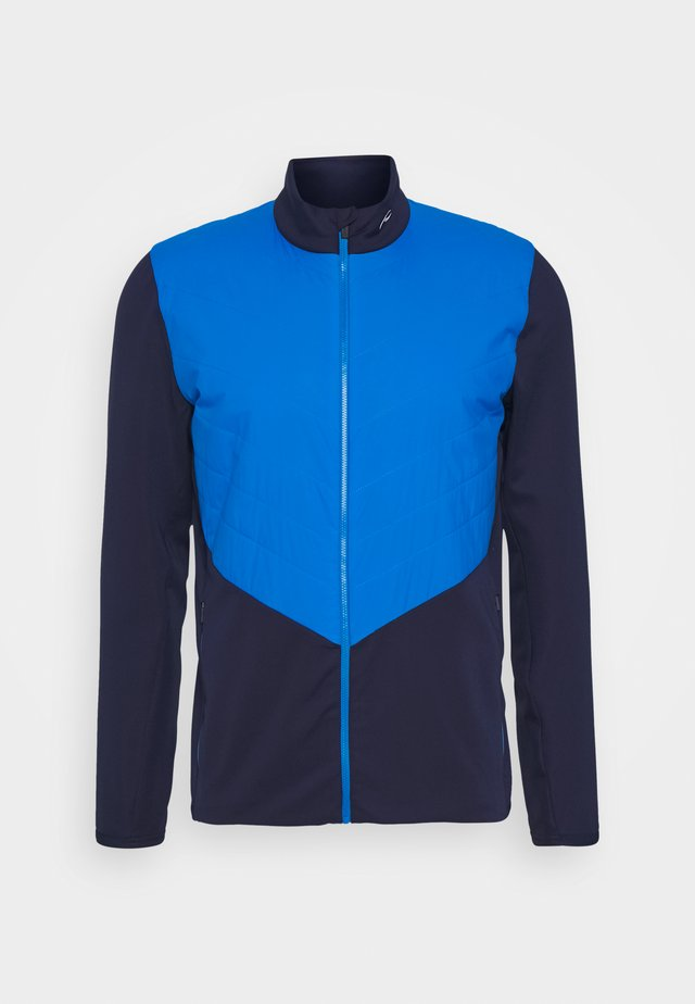 MEN RELEASE JACKET - Giacca softshell - atlanta blue/aruba blue