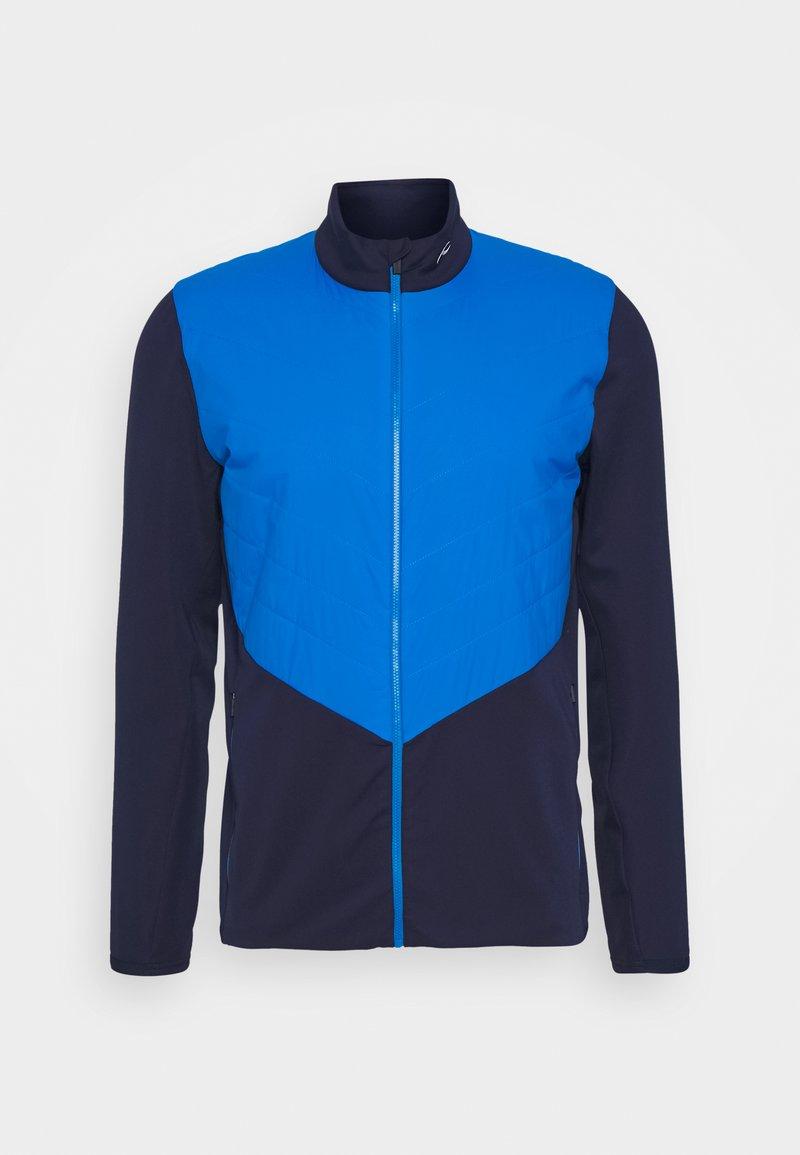 Kjus - MEN RELEASE JACKET - Softshellová bunda - atlanta blue/aruba blue