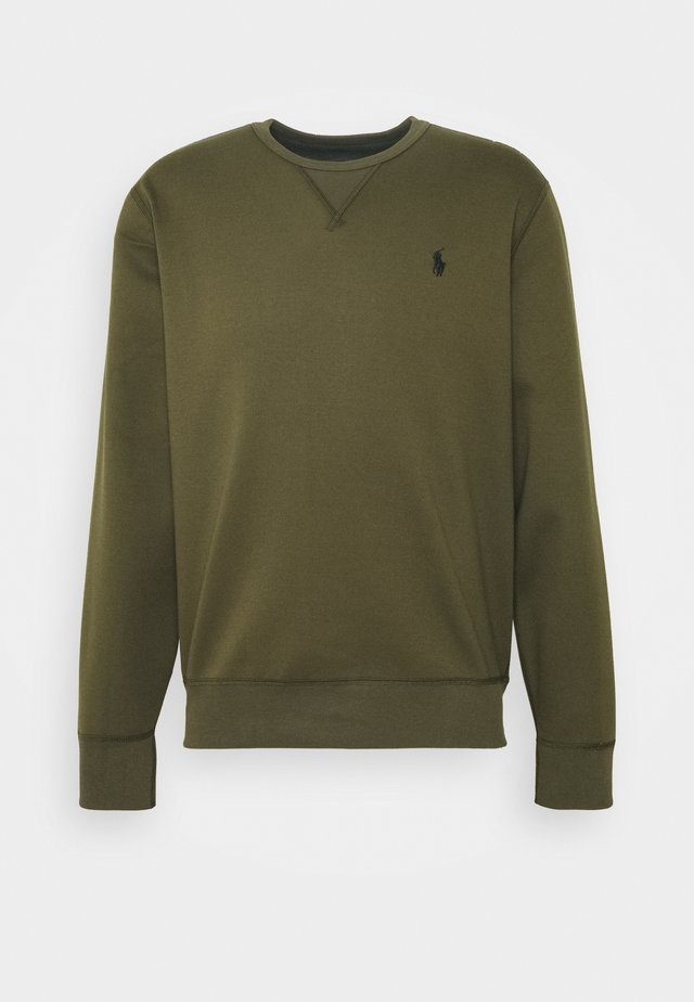 DOUBLE TECH - Long sleeved top - company olive