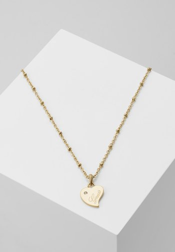 QUEEN OF HEART - Necklace - gold-coloured