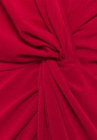 WAL G TALL - FRONT KNOT SLEEVE MIDI DRESS - Jersey dress - red - 2