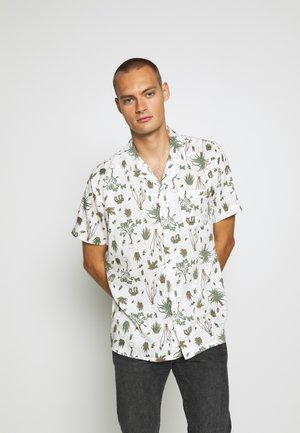 CUBANO SHIRT - Camisa - nephrite olive night