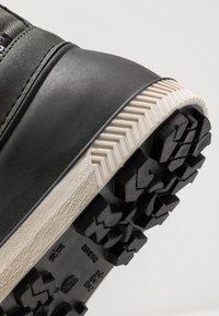 Friboo - Winter boots - black/green - 2