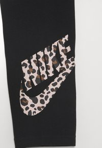 Nike Sportswear - FAVORITE - Leggings - Trousers - black/fossil stone - 2