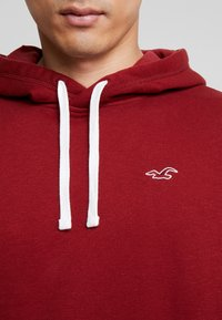 Hollister Co. - ICON PO  - Hoodie - burgundy - 5