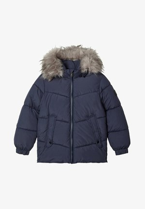 Winter jacket - ombre blue