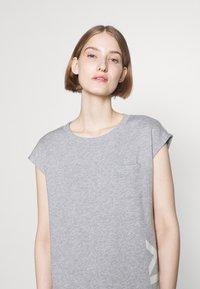 DKNY - FOUNDATION LOGO DRESS - Day dress - heather grey - 3