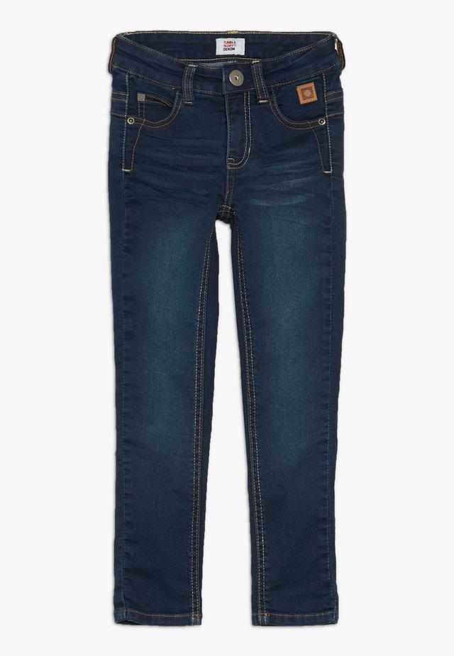 Slim fit jeans - denim medium used