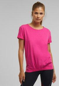 Esprit Sports - Print T-shirt - pink fuchsia - 0