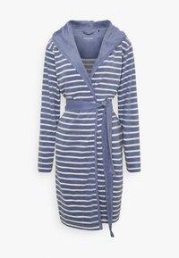Dressing gown - jeansblau