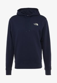 The North Face - DREW PEAK  - Bluza z kapturem - montague blue - 5