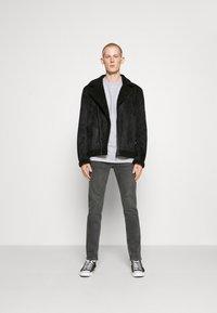 Nominal - AVIATOR  - Faux leather jacket - black - 1