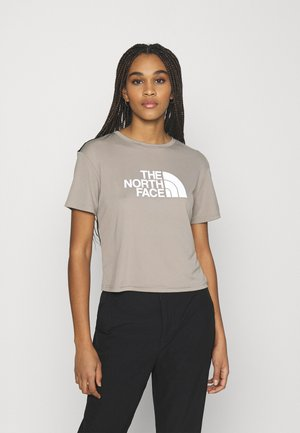 TEE - T-shirts med print - mineral grey