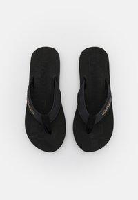 Napapijri - STICK - T-bar sandals - black - 4