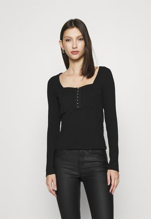 I'LL BE THERE  - Long sleeved top - black
