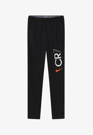 CR7 DRY - Tracksuit bottoms - black/white