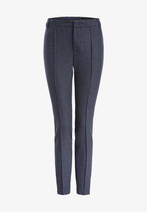 Trousers - dk grey blue