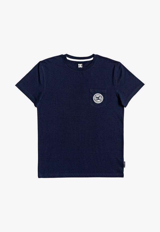 Basic T-shirt - black iris