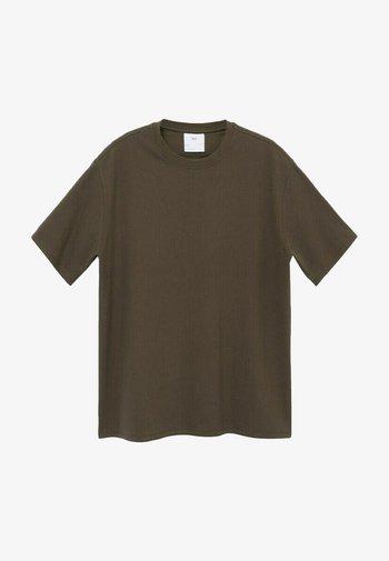 RELAXED FIT - T-shirt basic - kaki